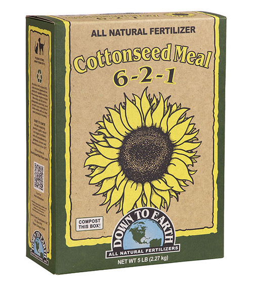 Down To Earth Cottonseed Meal Fertilizer - 5 lb