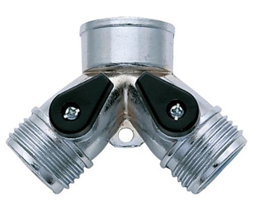 2-Way Metal Hose Connector