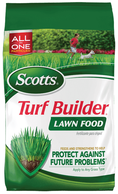 Scotts 5M Turf Builder Lawn Food - 12.5 lb