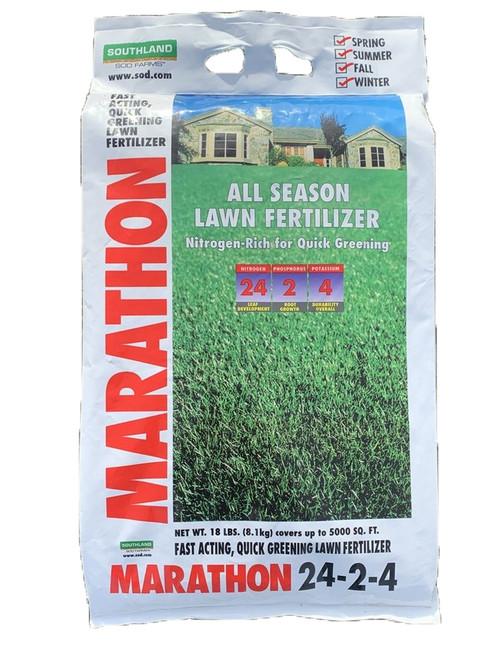 Marathon All Season Lawn Food 24-2-4 - 18 Lb