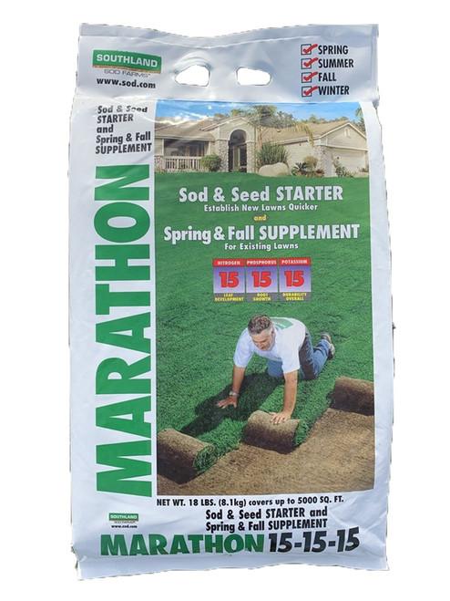 Marathon Starter Fertilizer 15-15-15 - 18 Lb
