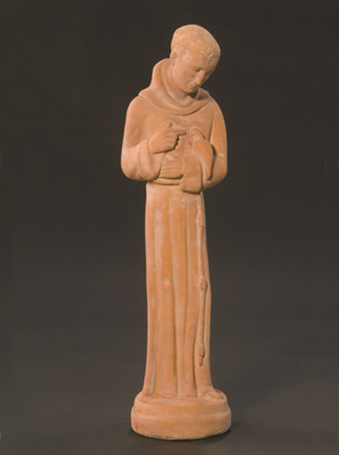 St. Francis with Dove, Medium