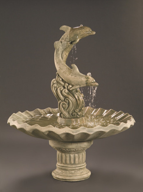 Dolphins / Shell Bowl Fountain