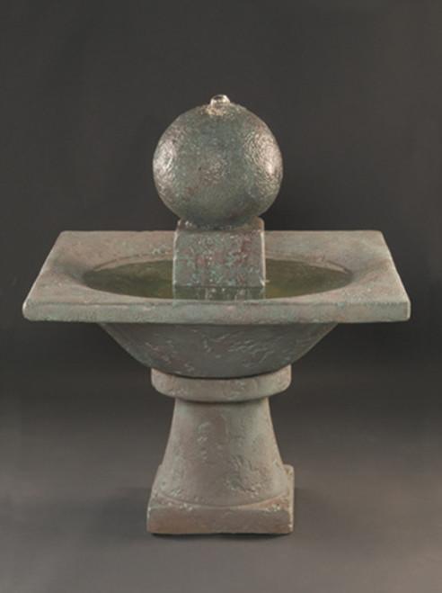 Garden Sphere Fountain