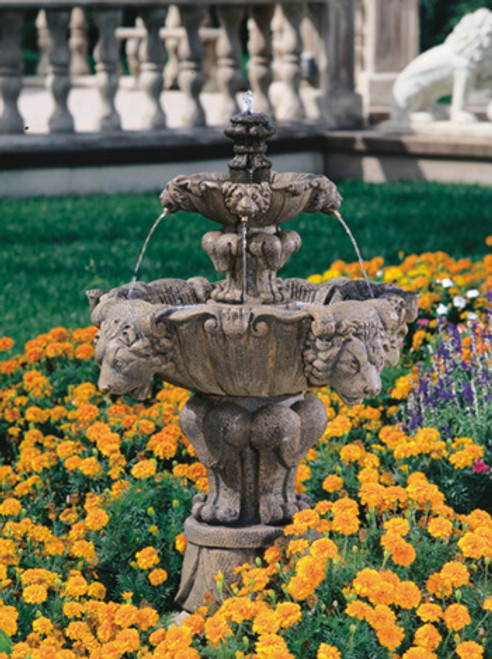 Lion Fountain, Small
