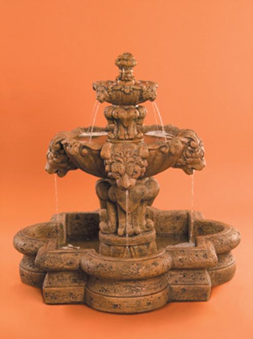 Courtyard Lion Fountain, Small