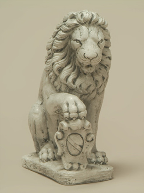 Lion with Shield, Right Paw