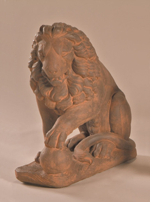 Lion with Ball, Left