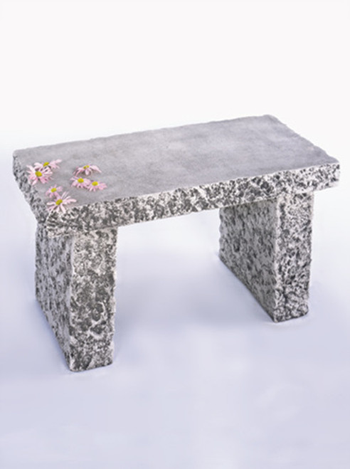Granite Bench, 3'