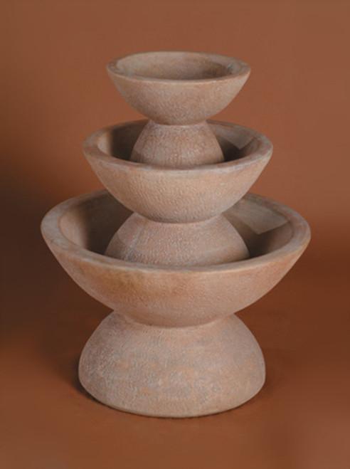 Color Bowl 3-Tier Fountain