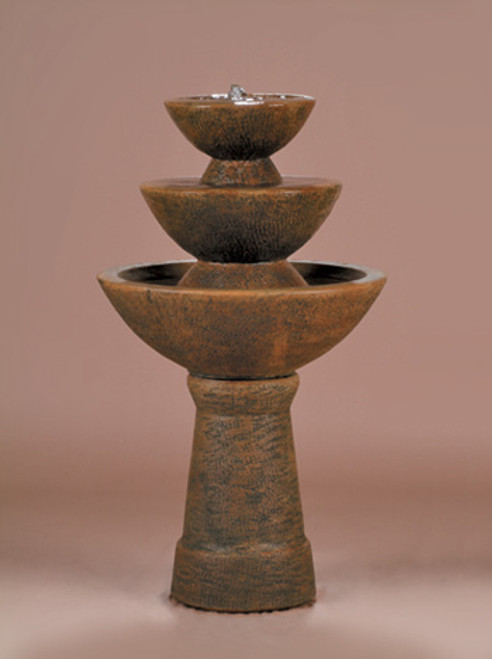 Color Bowl 3-Tier Fountain,Tall