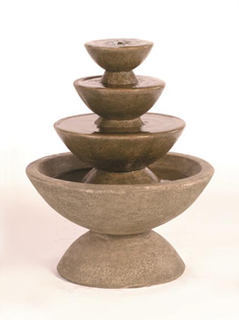Color Bowl 4-Tier Fountain