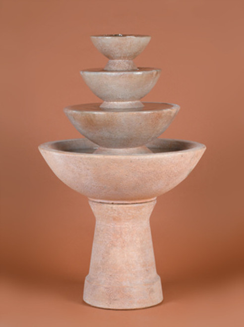 Color Bowl 4-Tier Fountain, Tall