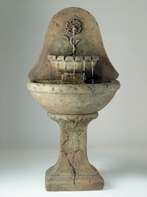 Marigold Wall Fountain, Tall