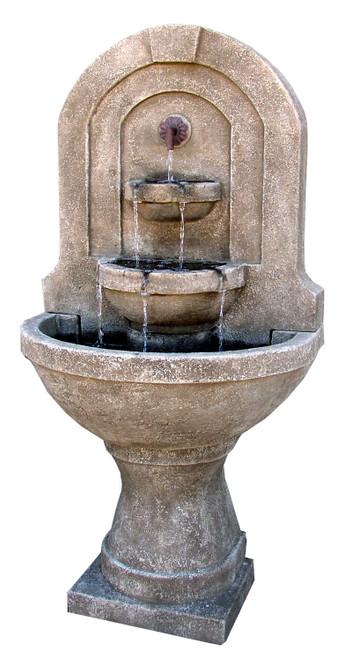 Castelnuovo Wall Fountain W/Pump