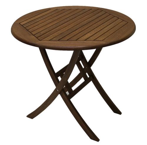 """Eucalyptus 30"""" Folding Bistro Table"""