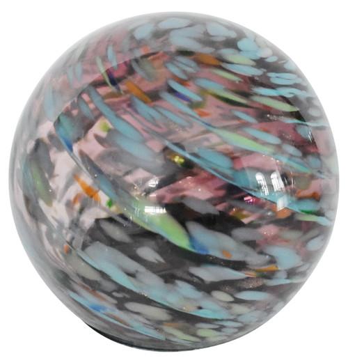 Solar Glass Orb Amethyst - 5 inch