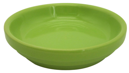 Glazed Ceramic Electric Saucer Green Apple - 4 inch