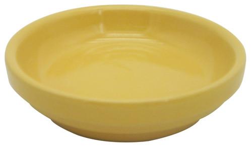 Glazed Ceramic Electric Saucer Sorbet - 5 inch