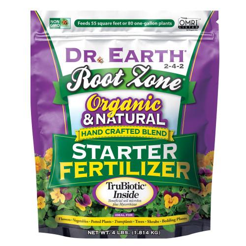 Dr. Earth Root Zone Starter Fertilizer - 4 Lb