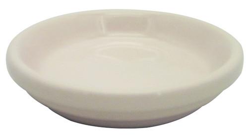 Glazed Ceramic Electric Saucer Coral - 6.5 inch