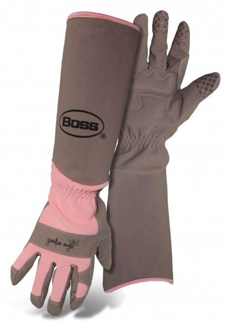 Boss® Guardian Angel Extended Sleeve Ladies' Garden Gloves  - Coral - Small