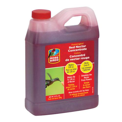 Classic Brands More Birds Premium Hummingbird Red Nectar Concentrate - 32 Oz