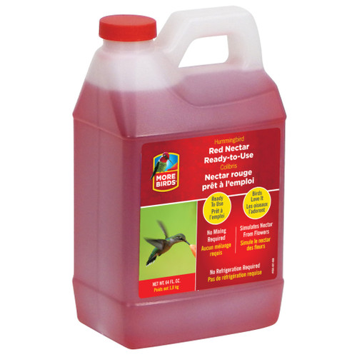 Classic Brands More Birds Premium Ready-To-Use Hummingbird Nectar Red - 64 Oz