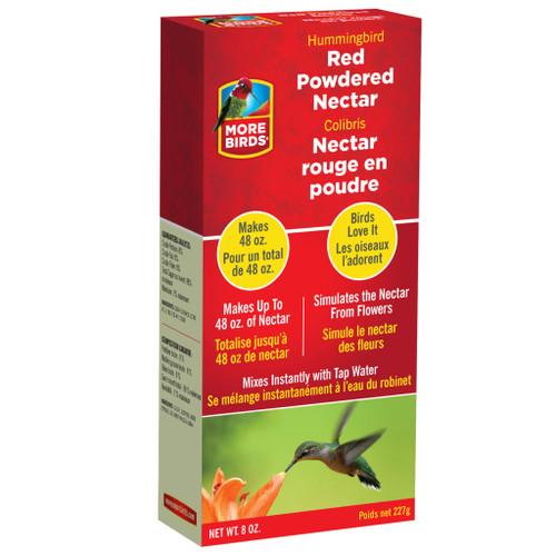 Classic Brands More Birds Premium Powdered Hummingbird Nectar Red - 8 Oz