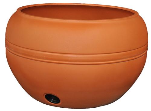 Tusco Hose Pot Terra Cotta Plastic - 20 inch