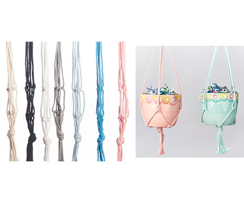 "Mini Cotton Hanger - Assorted - 18"""