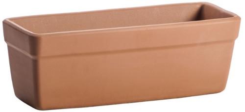 Terra Cotta Windowbox Plain Planter - 12 inch