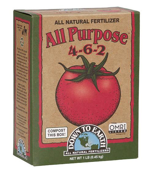Down To Earth All Purpose 4-6-2 Fertilizer - 1 lb