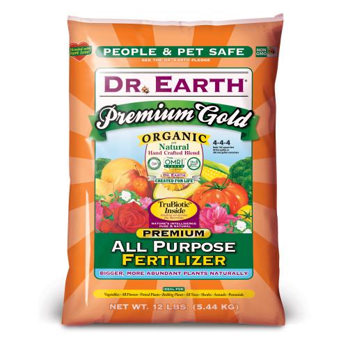 Dr. Earth Premium Gold All Purpose Fertilizer - 12 Lb