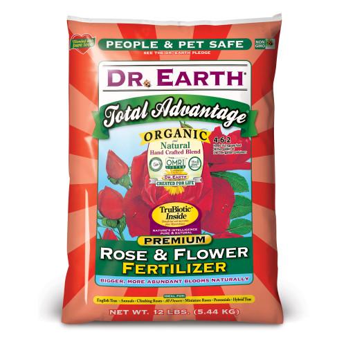 Dr. Earth Total Advantage Rose and Flower Fertilizer - 12 Lb