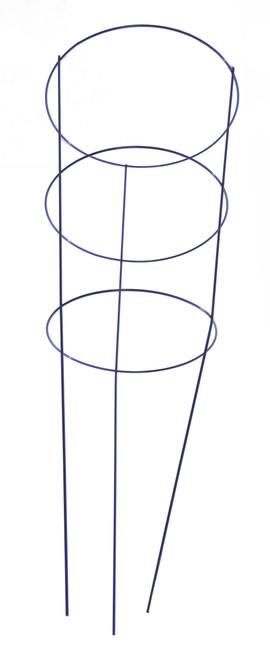 "Panacea Blue Tomato Cage 3 Ring - 42"""