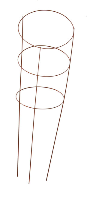 """Panacea Red Tomato Cage 3 Ring - 42"""""""