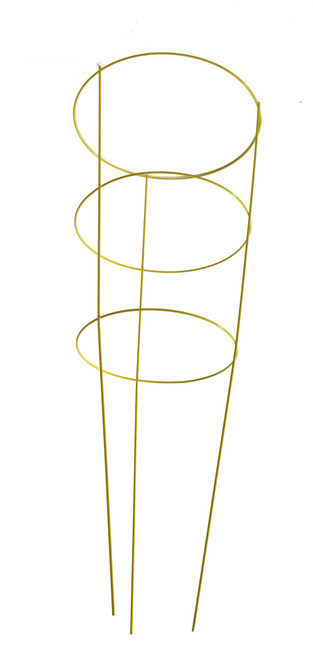 "Panacea Yellow Tomatocage 3 Ring - 42"""