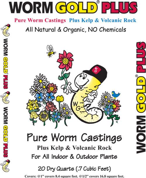 Worm Gold Worm Castings - 20 qt