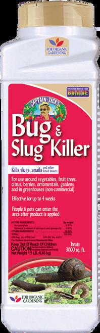 Bug & Slug Killer - 15 lbs