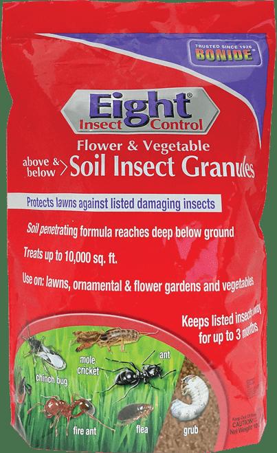 Eight® Flower & Vegetable Soil Insect Granules - 10 lbs