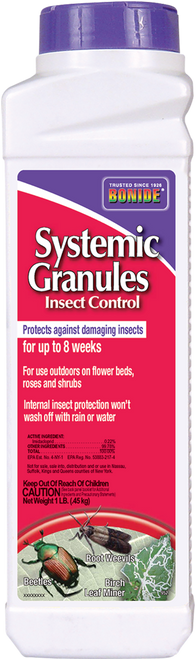 Systemic Insect Control Granules - 1 lb