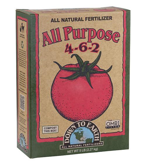Down To Earth All Purpose 4-6-2 Fertilizer - 5 lb