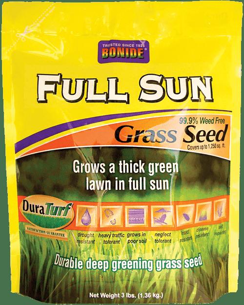 Full Sun Grass Seed - 3 lbs