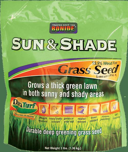 Sun & Shade Grass Seed - 3 lbs