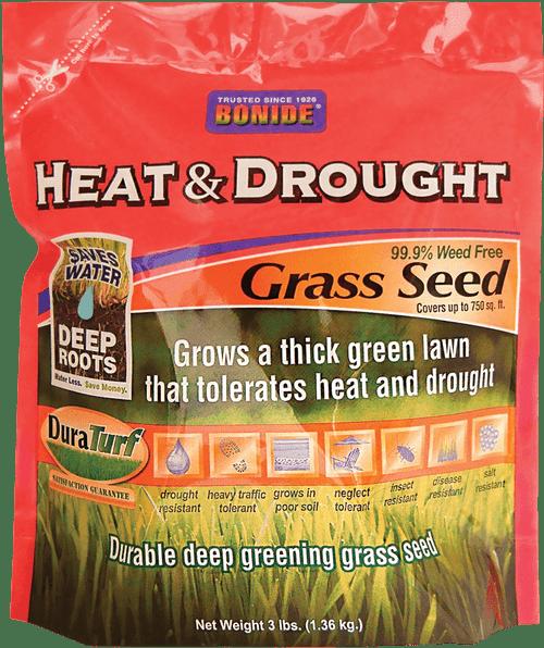 Heat & Drought Grass Seed - 3 lbs