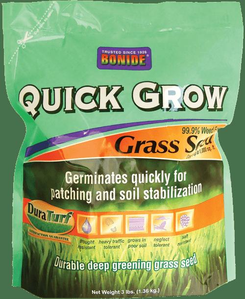 Quick Grow Grass Seed - 3 lbs