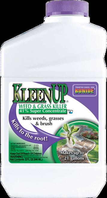 KleenUp® 41% Weed & Grass Killer Concentrate - 32 oz