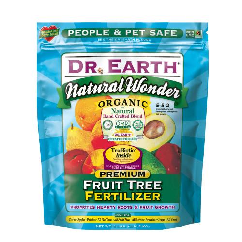 Dr. Earth Natural Wonder Fruit Tree Fertilizer - 4 Lb