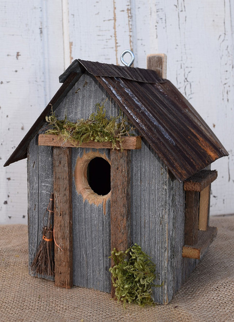 Birdhouse with Tin Roof